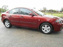 2008 Mazda 3 BK MY08 Neo Sport Cardinal Red 4 Speed Auto Activematic Sedan Nailsworth Prospect Area Preview
