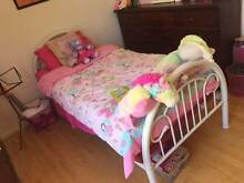 Girls Bed - White x 3 Wembley Cambridge Area Preview