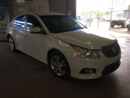 2013 Holden Cruze JH MY14 SRi White 6 Speed Automatic Sedan Bohle Townsville City Preview