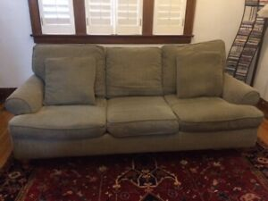 sofa: Rowe 3-Seater in excellent condition