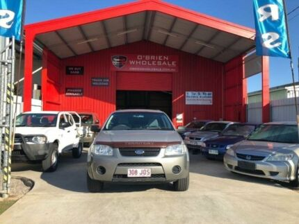 2006 Ford Territory SY TS (RWD) Silver 4 Speed Auto Seq Sportshift Wagon Clontarf Redcliffe Area Preview
