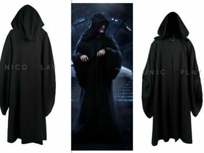 Star Wars Emperor Palpatine Darth Sidious Robe Cosplay Costume - Star Wars Emperor Kostüm