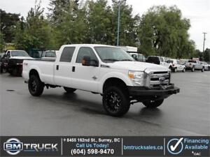 2012 FORD F-350 SUPER DUTY XLT CREW CAB LONG BOX 4X4 DIESEL