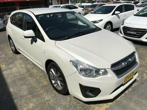 2014 Subaru Impreza MY14 2.0I Luxury Limited Edition White Continuous Variable Hatchback Rockdale Rockdale Area Preview