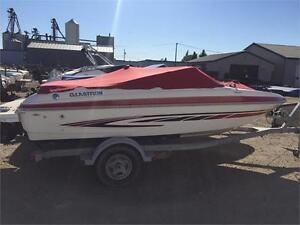 2008 GLASTRON GT 185 FISH N SKI WITH 4.3L MERC ONLY $19900.00