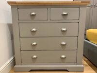 Drawer Chest and 2 x Bedside Tables from Oak Furniture Land