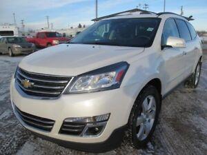 2015 Chevrolet Traverse LTZ SUV AWD LEATHER SUNROOF NAV