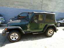 1998 Jeep Wrangler TJ Sport (4x4) 3 Speed Automatic 4x4 Softtop Lewisham Marrickville Area Preview
