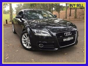 2011 Audi TT 8J MY12 2.0 TFSI Quattro Black 6 Speed Direct Shift Coupe Lansvale Liverpool Area Preview