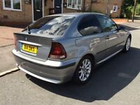 BMW 316ti Compact grey - Spares or repairs private plate