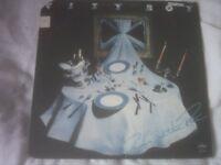 Vinyl LP Dinner At The Ritz - City Boy Mercury SRM 1-1121 US Pressing Stereo 1977