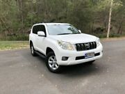 2010 Toyota Landcruiser Prado KDJ150R GXL White Manual Wagon Springwood Logan Area Preview