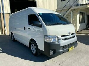 2014 Toyota HiAce KDH221R MY14 Super LWB White 5 Speed Manual Van Greystanes Parramatta Area Preview