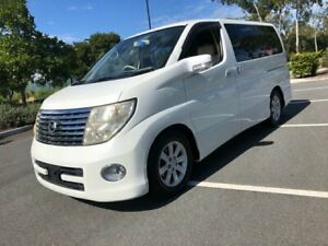 2005 Nissan Elgrand E51 Series 2 White 5 Speed Automatic Wagon Arundel Gold Coast City Preview
