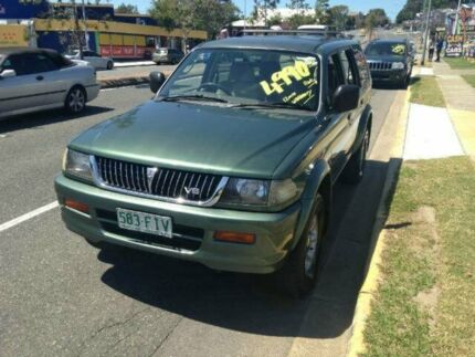 1998 Mitsubishi Challenger PA (4x4) Green 5 Speed Manual Wagon Greenslopes Brisbane South West Preview