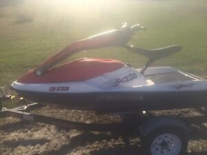 2005 3D Standup Sea-Doo, Trailer and cover