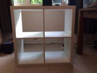 IKEA shelving unit, excellent condition, less than a year old