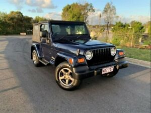 2006 Jeep Wrangler TJ MY2006 65th Anniversary Blue 4 Speed Automatic Softtop