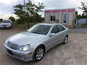 2007 MERCEDES-BENZ C-CLASS 3.0L AVANTGARDE - SUNROOF - AWD
