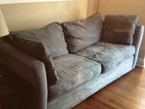 Clean & High Quality - Couch and 'Seat and a Half' for Sale