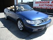 1999 Saab 9-3 S Blue 5 Speed Manual Convertible West Perth Perth City Area Preview