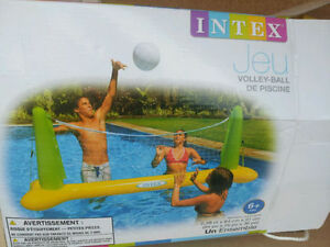 Inflatable Pool volley ball set