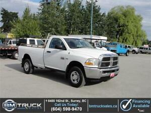 2012 DODGE RAM 2500 REGULAR CAB LONG BOX 4X4 HEMI