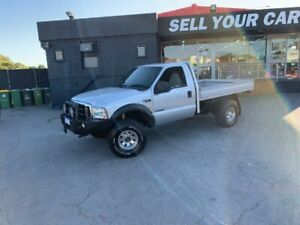 2003 Ford F250 XLT Cab Chassis Single Cab 2dr Man 6sp, 4x4 1212kg 7.3DT Silver Manual Cab Chassis Como South Perth Area Preview