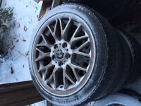 """17"""" BMW wheels and tires (225/45/R17)"""