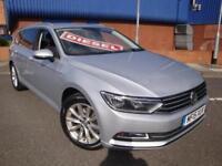 15 VW PASSAT 2.0TDI ( 150ps ) ( SNAV ) SE BUSINESS ESTATE £20 ROAD TAX NEW SHAPE
