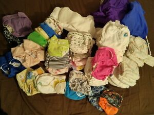 Cloth diapers - Couches lavables, fitteds, AIOs, pockets, etc.