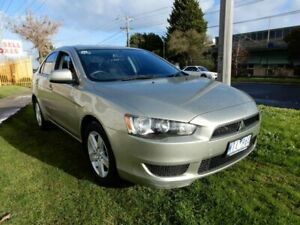 2008 Mitsubishi Lancer CJ MY09 ES Gold 6 Speed Constant Variable Sedan Moorabbin Kingston Area Preview