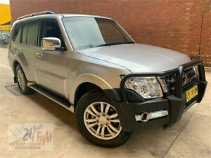 2018 Mitsubishi Pajero NX MY18 GLX Silver 5 Speed Sports Automatic Wagon Campbelltown Campbelltown Area Preview