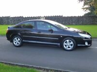 2008 PEUGEOT 407 2.0 HDI SE BLACK OUTSTANDING CONDITION THROUGHOUT MOTD 9/2017