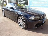 BMW M3 3.2 2003 M3 Convertible Full S/H 10 stamps Sat Nav P/X