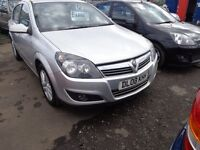 2008 Vauxhall Astra 1.6 Petrol 5 Door 140,000 miles great driver MOT'd 1 Year £1395