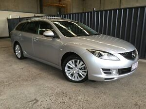 2009 Mazda 6 GH1051 MY09 Classic Silver 5 Speed Sports Automatic Wagon Rocklea Brisbane South West Preview