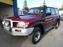 2000 Nissan Patrol GU ST (4x4) Red 5 Speed Manual 4x4 Wagon Christies Beach Morphett Vale Area Preview