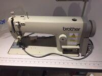Brother SL-1110 High Speed single needle lockstitch machine. £ 400