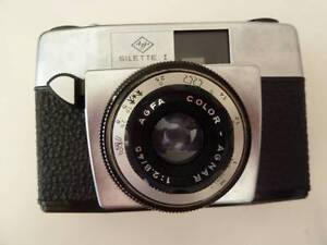 Vintage camera - Agfa Silette In original box with case, Bedford Bayswater Area Preview