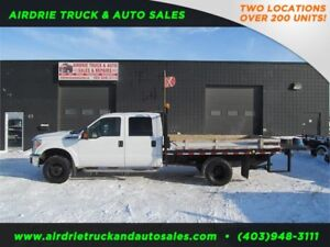 2013 Ford F-350 DRW XLT 8X11 ft long Flat Deck+ Power LiftGate