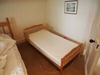 Childs Bed and Mattress