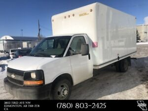 2015 Chevrolet Express Cube Van 16 foot length box - Finance
