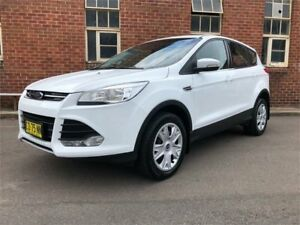 2014 Ford Kuga TF Ambiente White Sports Automatic Wagon