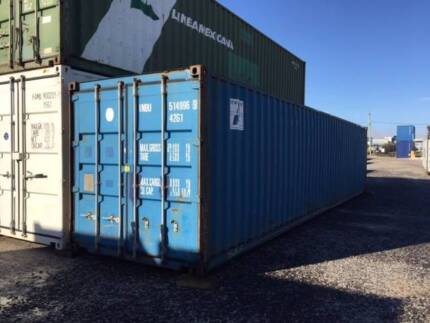 used 40'' shipping containers in tamworth