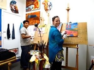 Oil Painting for Beginners, 1 on 1 or 2 max. (6 weeks workshop) Burnley Yarra Area Preview