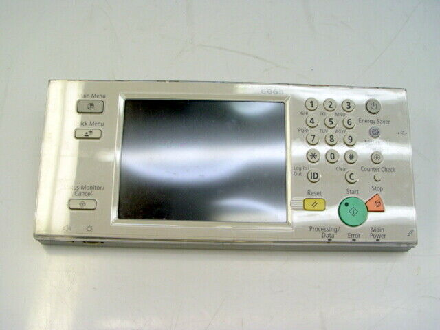 Canon imageRUNNER ADVANCE 6065 Control Panel Assembly, FM3-8262