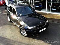 BMW X3 2.0 D M SPORT 5d 148 BHP WATCH FULL HD VIDEO OF TH (black) 2006