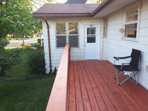 Big, Bright 3 Bedroom, main floor apartment, in a small town