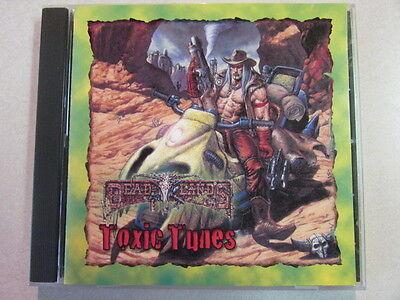 Deadlands Hell On Earth Toxic Tunes 1998 Cd Pinnacle Entertainment Mega Rare Oop